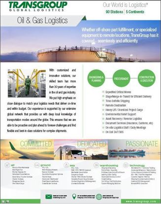 Picture of Oil and Gas Logistics