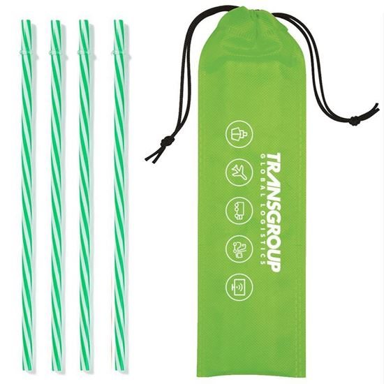 Picture of Reusable Straws and Pouch