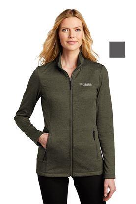 Picture of Fleece Striated Jacket - Ladies
